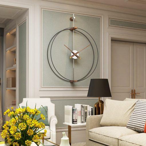 69CM grande horloge murale Design moderne horloges pour la d coration de la maison bureau fer min