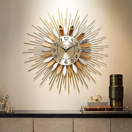 horloge design acier sejour