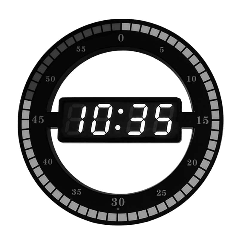 Horloge Design Led