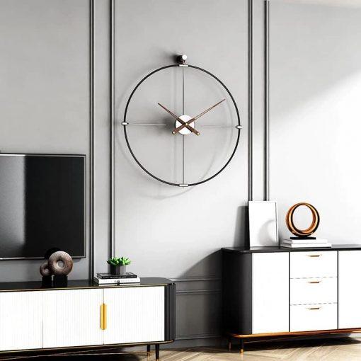 horloge metal design