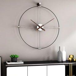 horloge mural metal