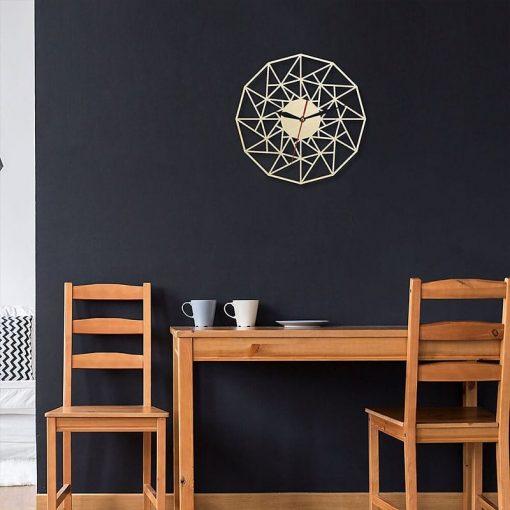 Horloge murale bois design style scandinave