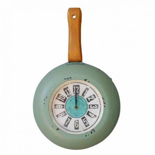 Horloge murale cuisine vintage