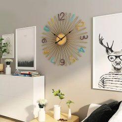 horloge murale deco salon sejour