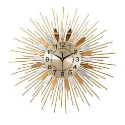 Horloge design murale en acier