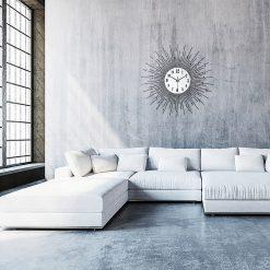 horloge murale design moderne luxe
