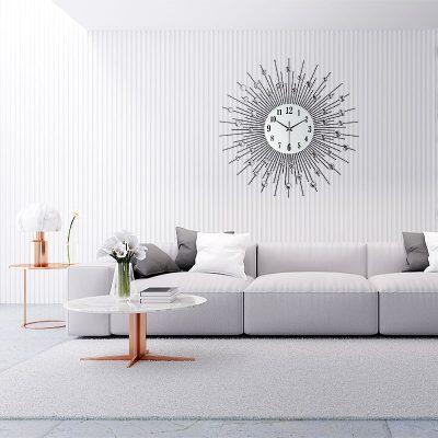 Horloge murale design haut de gamme originale et contemporaine