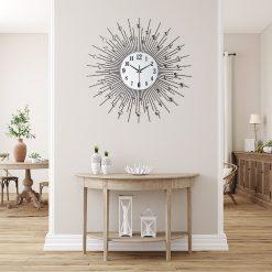 horloge murale design moderne sejour