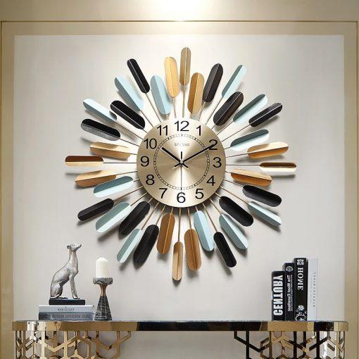 Horloge murale originale et design multicolore
