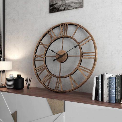 Horloge murale vintage 40 cm de diamètre