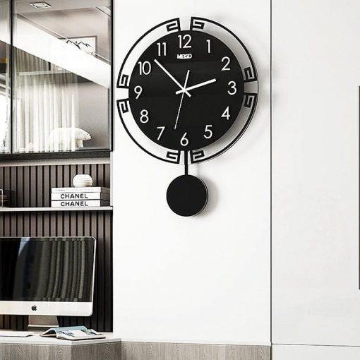 horloge pendule murale vintage bureau