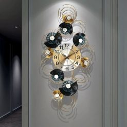 grande horloge design decoration murale