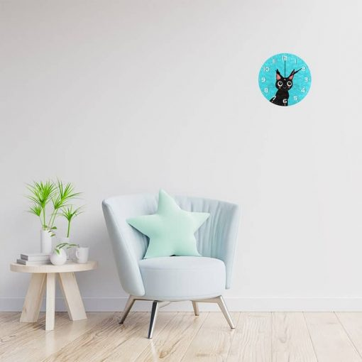Horloge design chat
