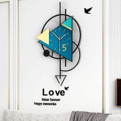 horloge-murale-style-design-sejour