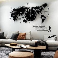 Horloge murale géante