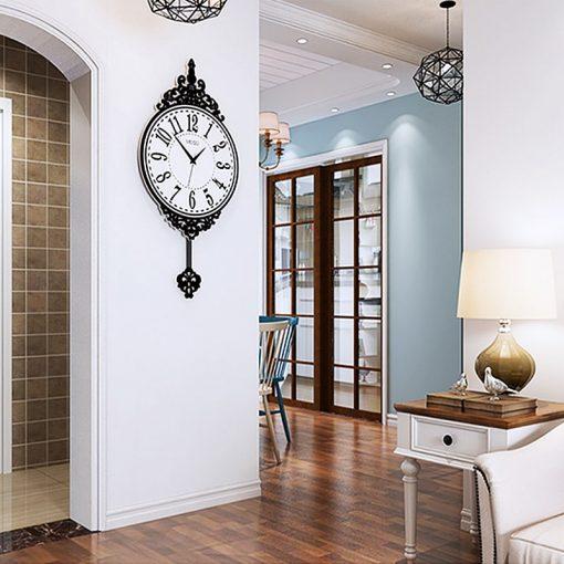 Horloge géante style vintage