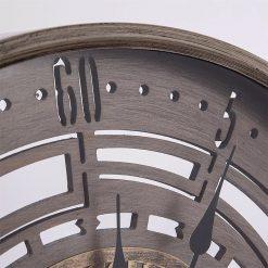 horloge industrielle 60 cm