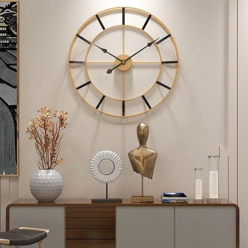 horloge murale design 60 cm sejour