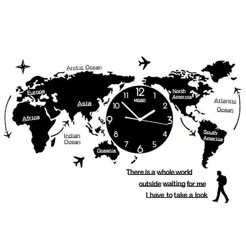 horloge murale geante originale