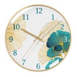 Horloge murale verre design