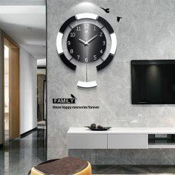 Grande horloge murale décorative