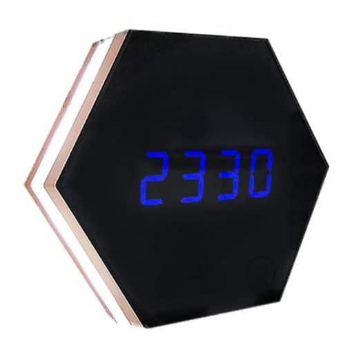 Horloge digitale murale LED
