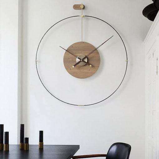 Horloge industrielle murale design de 60 ou 80 cm de diametre