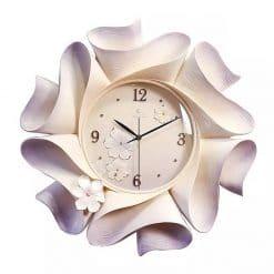Horloge murale blanche design originale