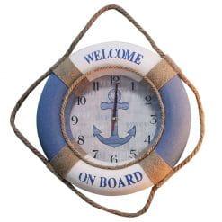 Horloge murale déco marine