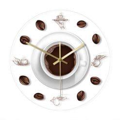 Horloge murale décorative cuisine