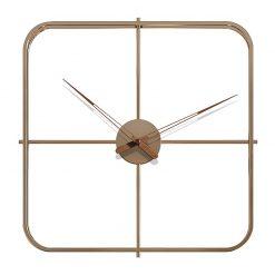 Horloge murale design carrée
