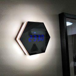 Horloge murale digitale avec technologie LED