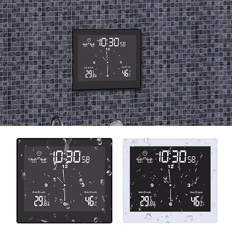 Horloge design salle de bain