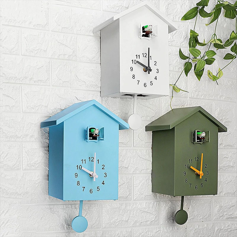 Horloges murales coucou design