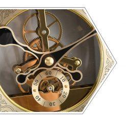 Mécanisme avec engrenages de l'horloge murale design haut de gamme