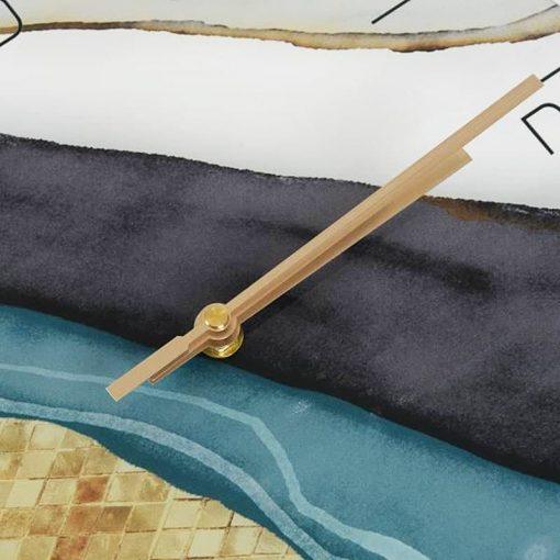 Aiguilles avec mecanisme a quartz de lhorloge murale au style scandinave