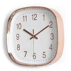 Horloge murale de cuisine moderne en verre