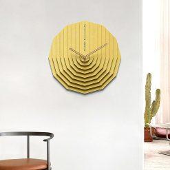 Horloge murale scandinave 3D design et moderne