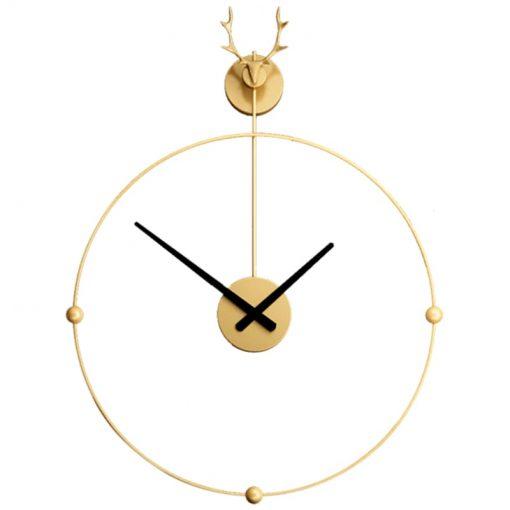Horloge murale fer forgé design