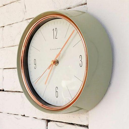 Petite Horloge murale style vintage