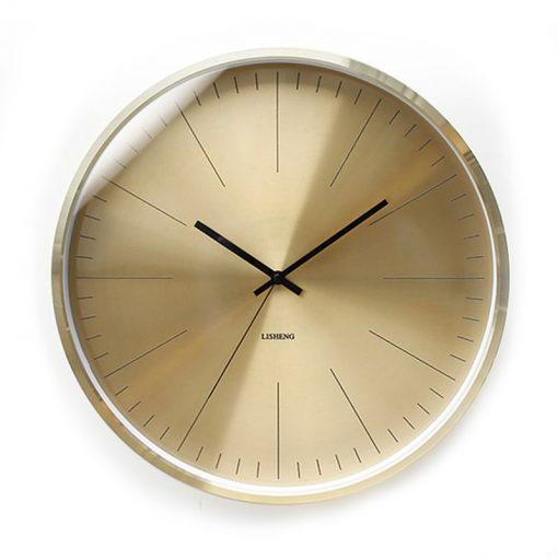 Horloge murale métal design silencieuse